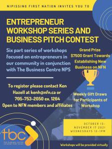 Entrepreneur Workshop Series & Business Pitch Contest @ Online